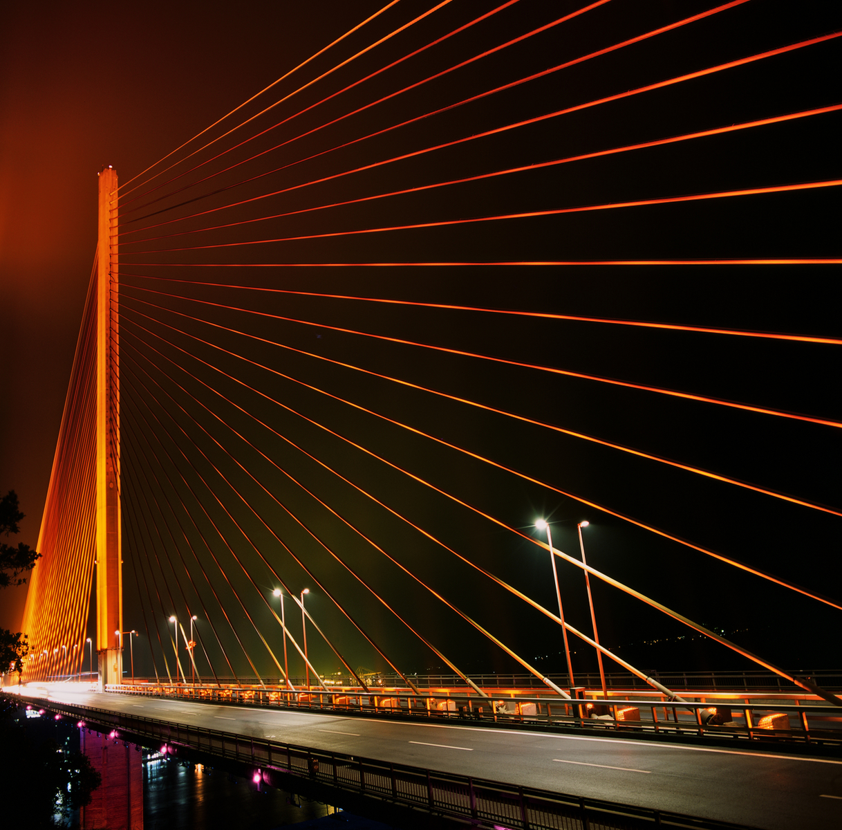 Bai Chay Bridge in Orange DT 1200